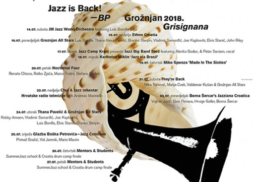 Jazz is back BP 2018